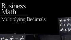 Decimals: Multiplying Decimals thumbnail