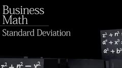 Business statistics: Standard Deviation thumbnail