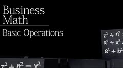 Formulas: Basic Operations thumbnail