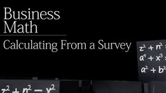 Percents: Calculating from a Survey thumbnail