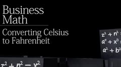 The Metric System: Converting Celsius to Fahrenheit thumbnail