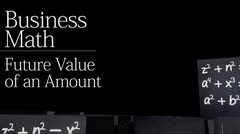 Time value of money: Future Value of an Amount thumbnail