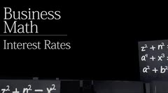 Time value of money: Interest Rates thumbnail