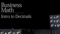 Decimals: Introduction to Decimals thumbnail