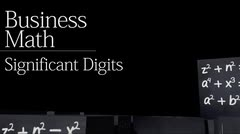Decimals: Significant Digits thumbnail
