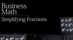 Fractions: Simplifying Fractions thumbnail