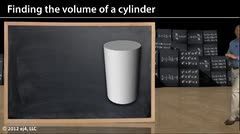 Geometry: Volume of a Cylinder thumbnail