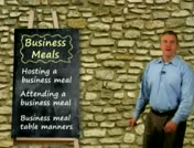 Business Meals: Attending a Business Meal thumbnail