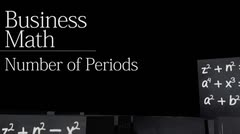Time value of money: Number of Periods thumbnail