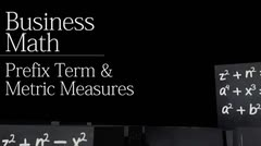 The Metric System: Prefix Terms and Metric Measures thumbnail