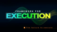 Framework for Execution: The Failure to Execute thumbnail