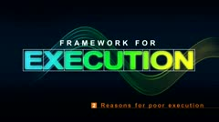 Framework for Execution: Reasons for Poor Execution thumbnail