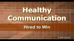 Healthy Communication: Hired to Win thumbnail