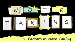 Note Taking: Factors thumbnail
