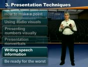 Writing speech information thumbnail