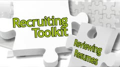 Recruiting Toolkit: Reviewing Resumes thumbnail