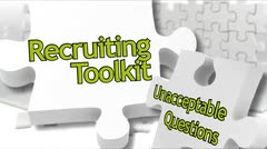 Recruiting Toolkit: Unacceptable Questions thumbnail