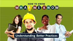Unknown Knowns: Understanding Better Practices thumbnail