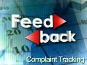 Feedback: Complaint Tracking thumbnail