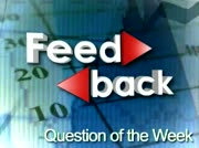 Feedback: Question of the Week thumbnail