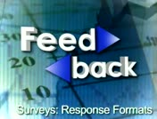 Feedback: Surveys: Response Formats thumbnail