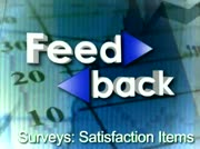 Feedback: Surveys: Satisfaction Items thumbnail