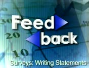 Feedback: Surveys: Writing Statements thumbnail