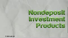 Non deposit Investment Products thumbnail