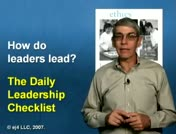 Daily Leadership Checklist thumbnail