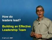Building an Effective Leadership Team thumbnail