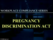 Pregnancy Discrimination Act  thumbnail