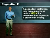 Regulation E: Issuances of Access Devices thumbnail