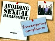 Sexual Harassment: Avoiding Sexual Harassment Investigating Complaints thumbnail