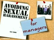 Sexual Harassment: Avoiding Sexual Harassment for Managers thumbnail