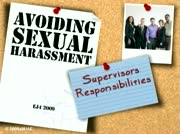 Sexual Harassment: Avoiding Sexual Harassment Supervisor Responsibility thumbnail