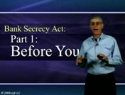 Bank Secrecy Part 1: Before You Start thumbnail