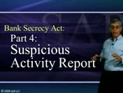 Bank Secrecy Part 4: Suspicious Activity Report thumbnail