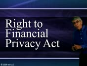 Right to Financial Privacy Act Part 1 thumbnail
