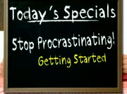 Stop Procrastinating - Getting Started thumbnail
