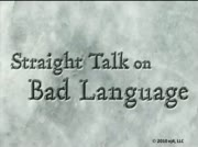 Straight Talk On Bad Language thumbnail