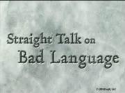 Straight Talk On Bad Language thumbnail