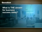 T.H.E. Answer for Business Success thumbnail
