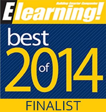 best of elearning finalist