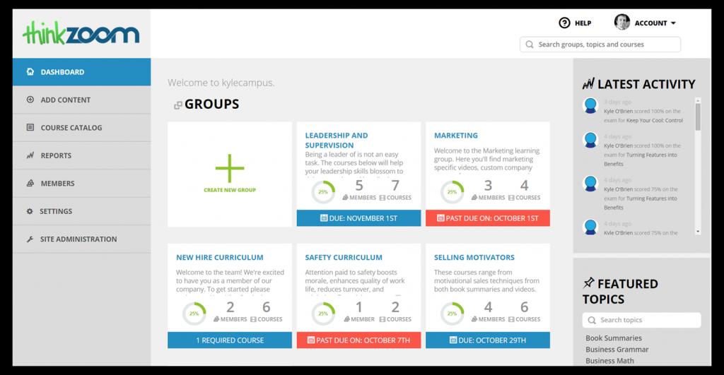 TZ 2.0 groups